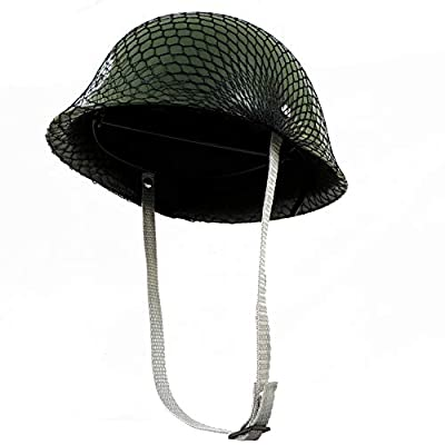 One Child's Plastic Army Helmet Hat: Toys & Games