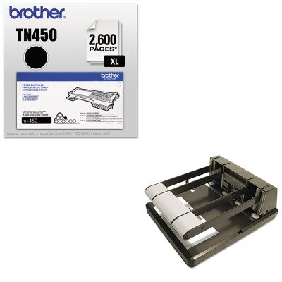 KITBOS03200BRTTN450 - Value Kit - Stanley Bostitch Heavy Duty Two- or Three-Hole Punch (BOS03200) and Brother TN450 TN-450 High-Yield Toner (BRTTN450)