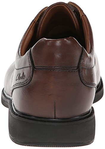 Clarks Mens Gatewood Over Oxford Walnut Brown