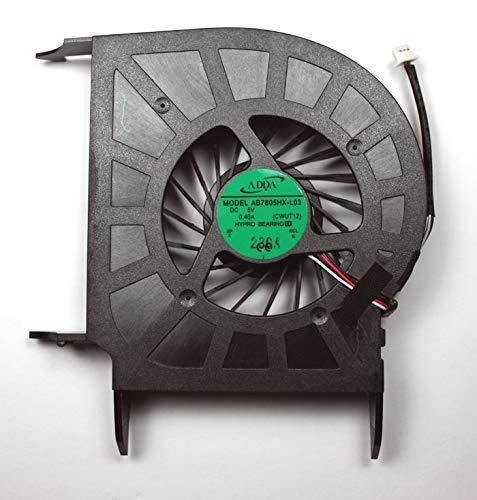 HP Pavilion dv6-2059eo dv6-2060ea dv6-2060et dv6-2060so dv6-2060ss dv6-2062eo dv6-2064ca dv6-2065et dv6-2066dx Laptop Fan Discrete Video Card Version for AMD Processors -