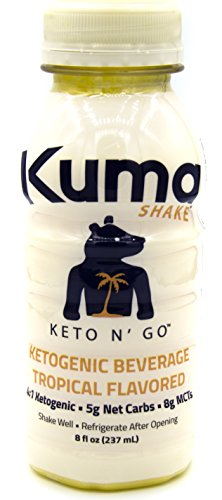 Kuma Shake: Ketogenic Vegan Fat Bomb, Keto n'...