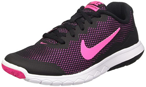 Nike Men's Flex Experience RN 4 (Black/Pink Foil/White) R...