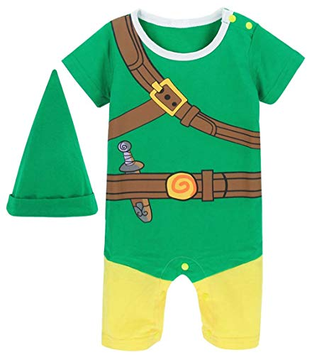 Baby Zelda Halloween Costume (Coolbebe Baby Zelda Halloween Cosplay Costume (Green, 6-9)