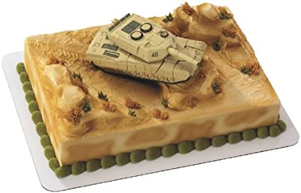 Fabulous Amazon Com Military Robot Tank Decoset Cake Decoration Toys Games Funny Birthday Cards Online Elaedamsfinfo