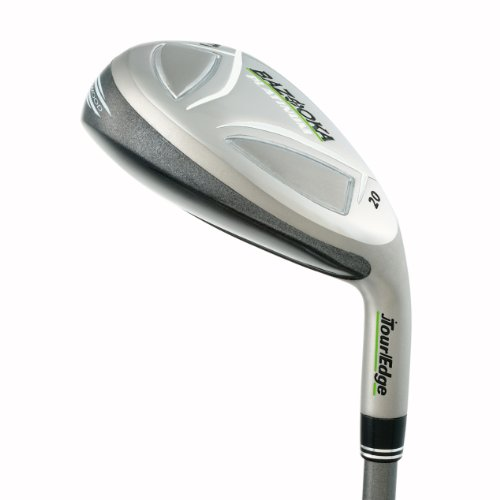 20 Tour Iron Set - Tour Edge Bazooka Platinum Golf Iron Wood, Men's, Right Hand, Graphite, Senior, #5 Hybrid