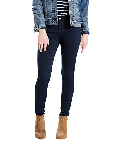 Levi's Women's 710 Skinny Jeans, Super Soft Navy Blazer, 24 Regular