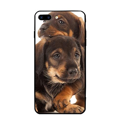 Dachshund Puppy Stylish iPhone 7/8 Plus Case Slim Fit Hard PC Compatible for iPhone 7/8 Plus Cover -