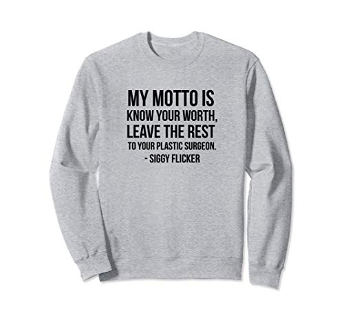 The Real Housewives of New Jersey Siggy Flicker Sweatshirt