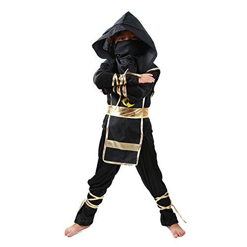 Spring-fever-Child-Kids-Boys-Stealth-Ninja-Assassin-Costume-Toys-Halloween-Cosplay-Dress-Up-Set