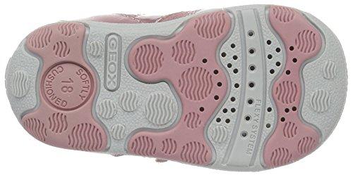 Geox B New Balu' Girl D, Botines de Senderismo para Bebés Rosa (Dk Pink C8006)