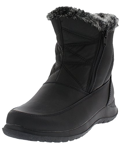 Weatherproof Womens Slopes Ankle-High Winter Snow Boot, 10 M US