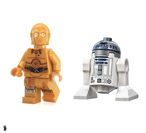 LEGO Star Wars Minifigure Droids - C-3PO and R2-D2 (75136)