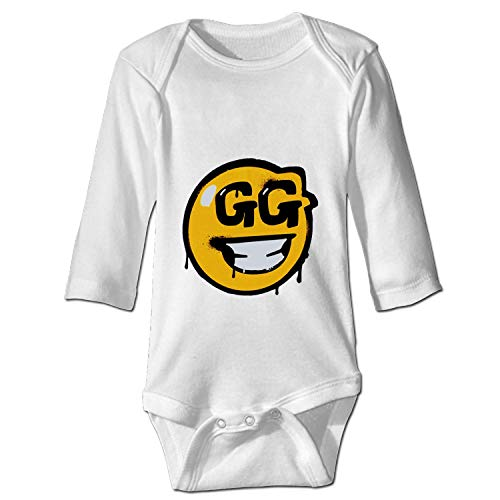 Price comparison product image USTON Newborn Baby FORTNITE GG Smiley Print Romper Bodysuit