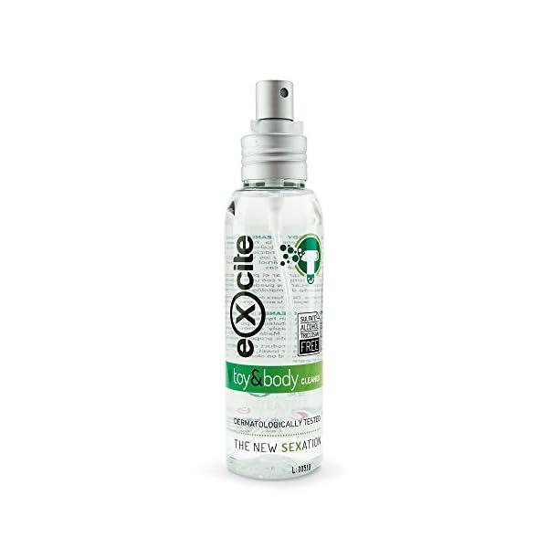 EXCITE Limpiador desinfectante de accesorios íntimos y copa menstrual. Antibacteriano y antiséptico con Aceite de Árbol… 2