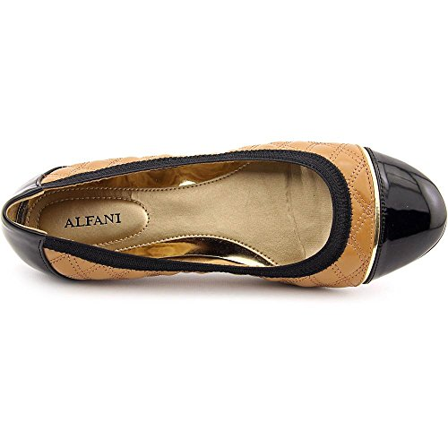 Alfani - Mocasines de Material Sintético para mujer gris marrón avellana