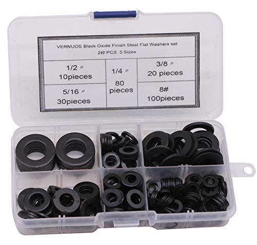 Hard-to-Find Fastener 014973211424 Black Panel Nails 1-5//8 Black Piece-180