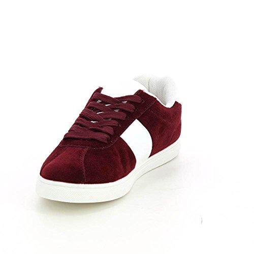 Go Tendance - botas de caño bajo Mujer Rojo