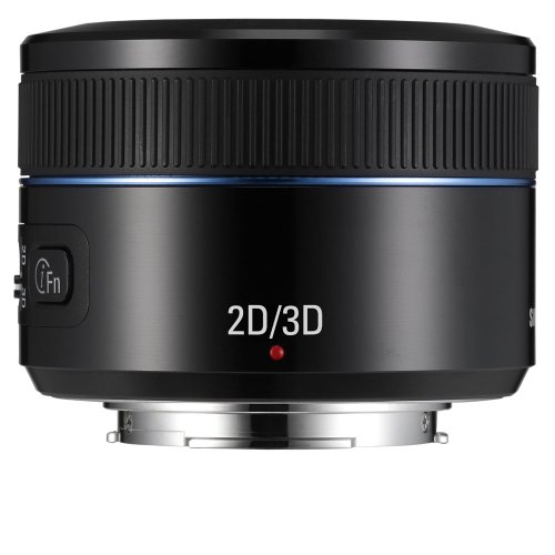 Samsung NX 45mm f/1.8  2D/3D Camera Lens (Black) by Samsung