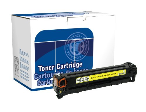 Dataproducts DPC1215Y Remanufactured Toner Cartridge Replacement for HP CB542A (Yellow) (Remanufactured Toner Yellow Cb542a)