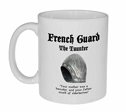 Monty Python and the Holy Grail French Guard- coffee or tea mug by Neurons Not Included