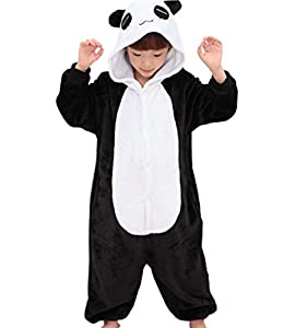 Tricandide Children Unisex Halloween Pajamas Animal Costume Cosplay Onesie