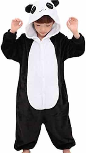 01d75579c Tricandide Children Unisex Halloween Pajamas Animal Costume Cosplay Onesie