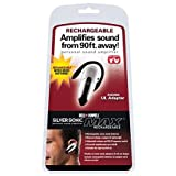 Rechargeable Silver Sonic Personal Sound Amplifier - As Seen On TV