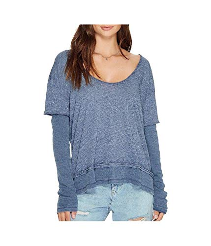 Free People Women's Magic Tee Blue X-Small from Free People