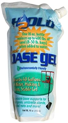 BaseGel. Basketball Goal Portable Bases Polymer, 16-Ounce