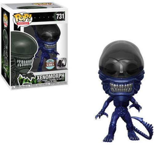 Movies- Alien 40th Anniversary: Xenomorph Blue Metallic Vinyl Figure