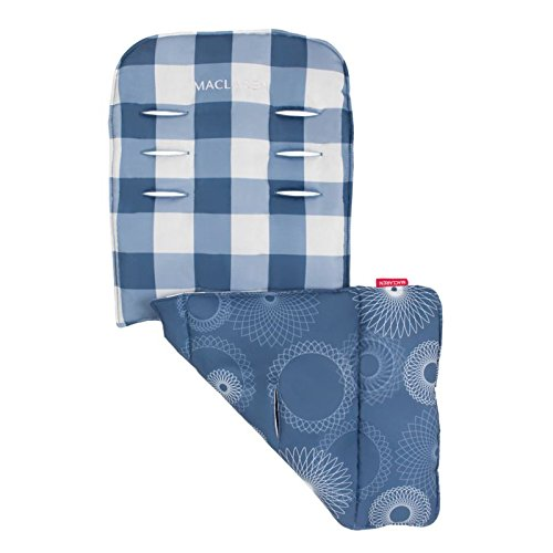 Maclaren Universal Liner Gingham, Soft Blue
