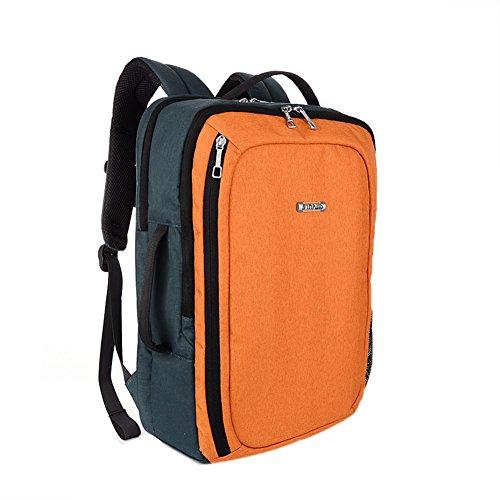 Genda 2Archer Unisexo Estilo Caliente 15,6 pulgadas Portátil y Tablet Mochila Mochila con estilo Tote (Naranjo) Naranjo