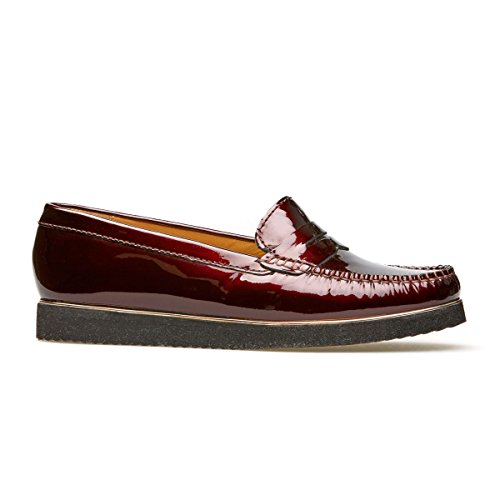 Van Dal Womens Heywood SH Leather Loafers Garnet DrnXzRK