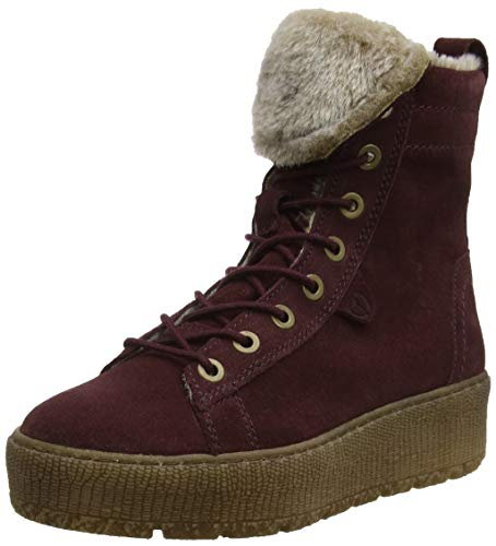 Combat 26265 Women's Red 549 Tamaris bordeaux Boots 21 A1qPt8