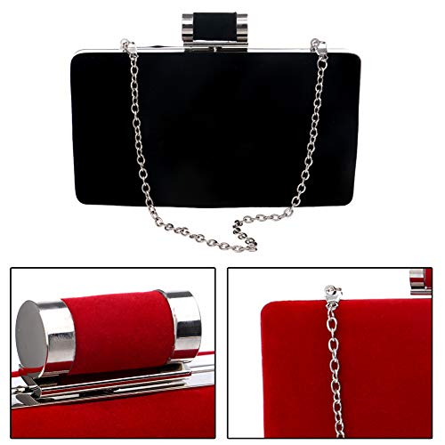 Party Clutches Purse Womens For Elegant Wallet Chain Evening Black Bags Handbags Aqwzaa
