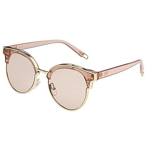 Aoligei Lunettes de soleil style star Big frame mode pour cent shopping  lunettes section de marée 262de81f63af