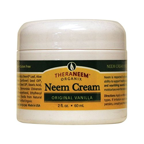 TheraNeem Cream - Original Organix South 2 oz Cream  Vanilla