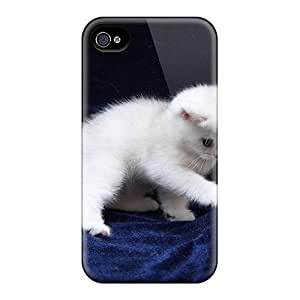 4/4s Scratch-proof Protection Case Cover For Iphone/ Hot Kitty Phone Case by lolosakes