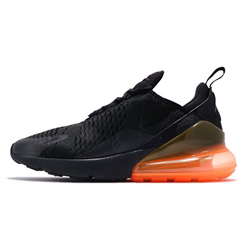 NIKE Total Uomo Black Air 270 Max Orange Running Scarpe Black fxwrUfPnvq