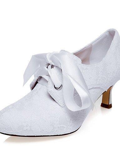 Y Fiesta 3 tacones Zq mujer 2in De Vestido Boda Noche boda tacones Zapatos 4in blanco white 2 f8gw8q4