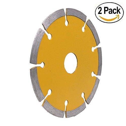PANOVOS (2PC)4.5'' Diamond Angle Grinder Grinding Stone Brick Concrete Ceramic Tiles Dry Cutting Disc Wheel Saw by PANOVOS