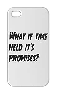 What if time held it's promises? Iphone 5-5s plastic case