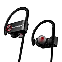 Bluetooth Headphones, Wireless Sports Headphones, Blumelody In-Ear Wireless Earbuds Built-in Mic IPX7 Waterproof HD Stereo Sound Noise Cancelling Wireless Earphones for Running Jogging Hiking Gym by QDH