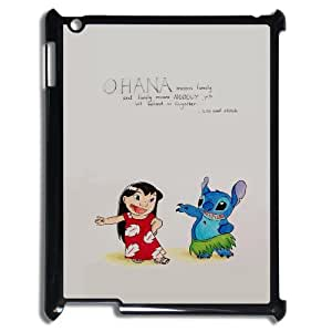 Exquisite stylish Cartoon protection shell iPad 2,3,4 outer casing for Ohana Cartoon pattern personality design