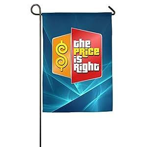 El precio es derecha malla jardín bandera