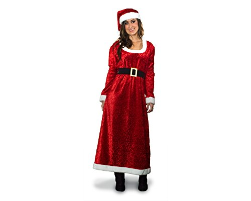 Extra Large Santa Boot Top (Sunnywood Women's Plus-size Charming Ms. Santa Adult Costume, -red, Extra Large)
