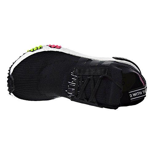 Adidas Nmd_racer Primeknit Mens Löparskor Core Svart / Core Svart / Sol Rosa Cq2441