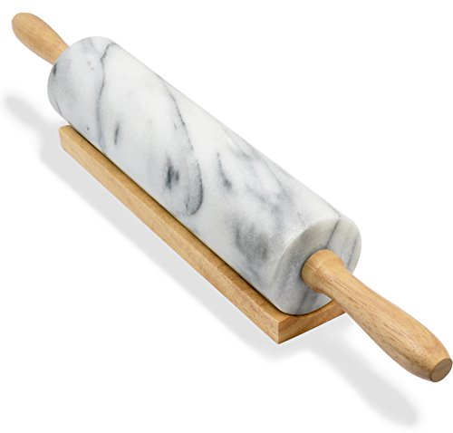(Greenco Hand Crafted Rolling Pin Marble, 1-Pack)