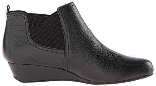 Lätt Anda Kvinna Dalena Boot Svart / Svart Läder