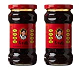 Laoganma (Lao Gan Ma) Black Beans Chili Sauce, 9.88 oz (Pack of 2)